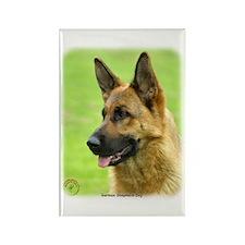 German Shepherd Dog 9B50D-20 Rectangle Magnet