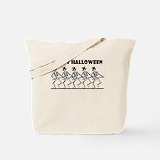 Skelly Happy Halloween Tote Bag