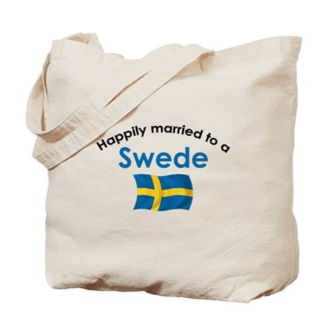 Happily Married Swede 2 Tote Bag