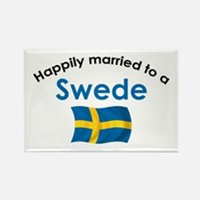 Happily Married Swede 2 Rectangle Magnet