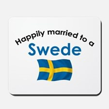 Happily Married Swede 2 Mousepad