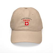 Happily Married Swiss 2 Baseball Cap