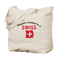 Happily Married Swiss 2 Tote Bag
