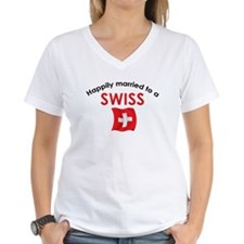 Happily Married Swiss 2 Shirt