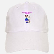 Big Sister of Twins Baseball Baseball Cap