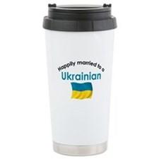 Happily Married Ukrainian 2 Travel Mug