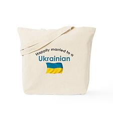 Happily Married Ukrainian 2 Tote Bag