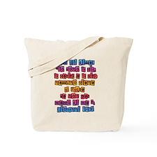 John 14:6 Italian Tote Bag