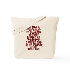 John 14:6 Maori Tote Bag