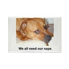 WE ALL NEED OUR NAPS Rectangle Magnet