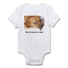 WE ALL NEED OUR NAPS Infant Bodysuit