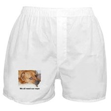 WE ALL NEED OUR NAPS Boxer Shorts