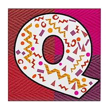 The Letter Q Tile Coaster