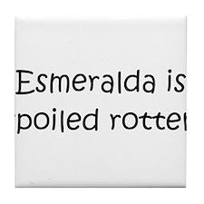 Esmeralda Tile Coaster