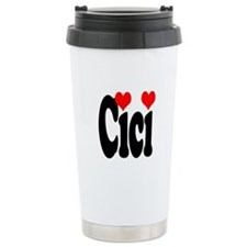 I love Cici Travel Coffee Mug