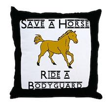Bodyguard Throw Pillow