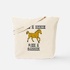 Banker Tote Bag