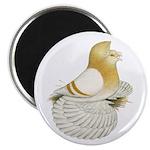 English Trumpeter Cream Bar Magnet