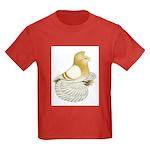 English Trumpeter Cream Bar Kids Dark T-Shirt