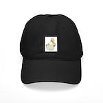 English Trumpeter Cream Bar Black Cap