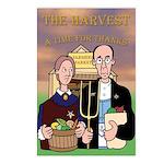 Harvest Time Postcards (Package of 8)
