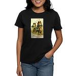 Collie Christmas Women's Dark T-Shirt