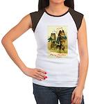 Collie Christmas Women's Cap Sleeve T-Shirt