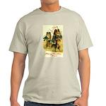 Collie Christmas Light T-Shirt