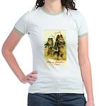 Collie Christmas Jr. Ringer T-Shirt