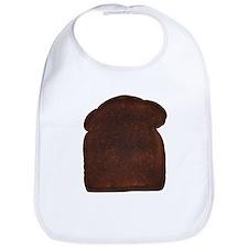 Burnt Toast Bib