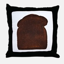 Burnt Toast Throw Pillow
