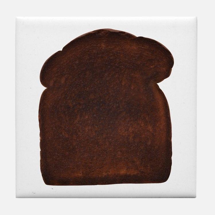 Burnt Toast Tile Coaster