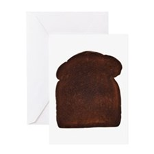 Burnt Toast Greeting Card