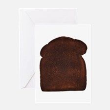 Burnt Toast Greeting Card