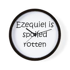 Cool Ezequiel Wall Clock