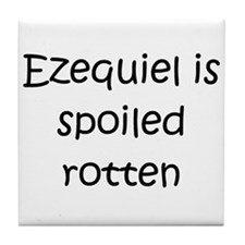 Cool Ezequiel Tile Coaster