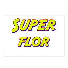 Super flor Postcards (Package of 8)