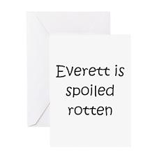 Cute Everett Greeting Card