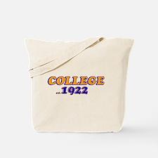 College 1920 Tote Bag