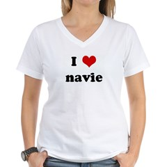 I Love navie Shirt