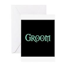 Green Morpheus Groom Greeting Card