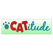 Catitude Bumper Bumper Sticker