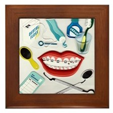 Dental Framed Tile