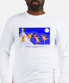 Holidays in the Land of No Ch Long Sleeve T-Shirt