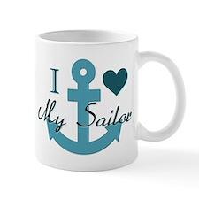 I Love My Sailor Mug