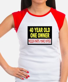 40 Year Old Women's Cap Sleeve T-Shirt