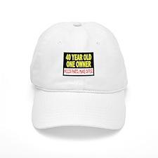 40 Year Old Baseball Cap