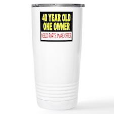40 Year Old Travel Mug