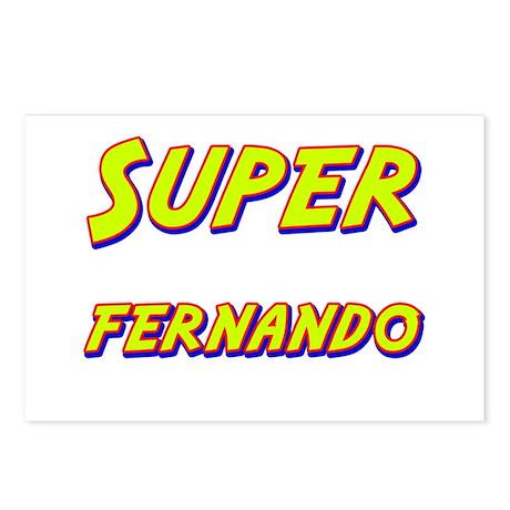 Super fernando Postcards (Package of 8)