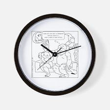 Cute Caveman Wall Clock